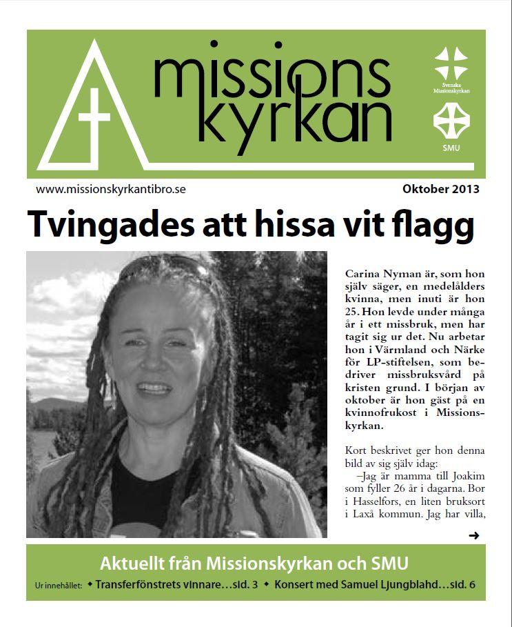 Tidningen Missionskyrkan nr 8 2013