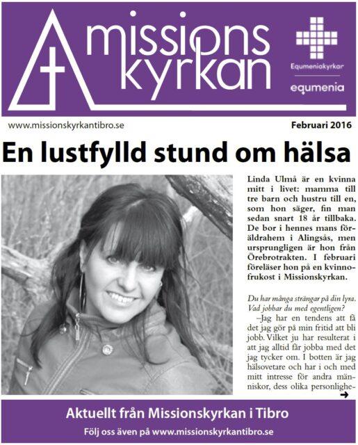 Tidningen Missionskyrkan | NR 1 2016