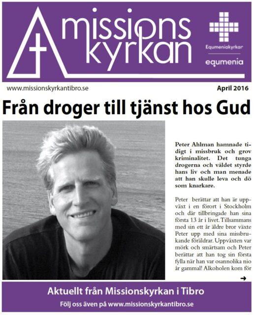 Tidningen Missionskyrkan | NR 3 2016