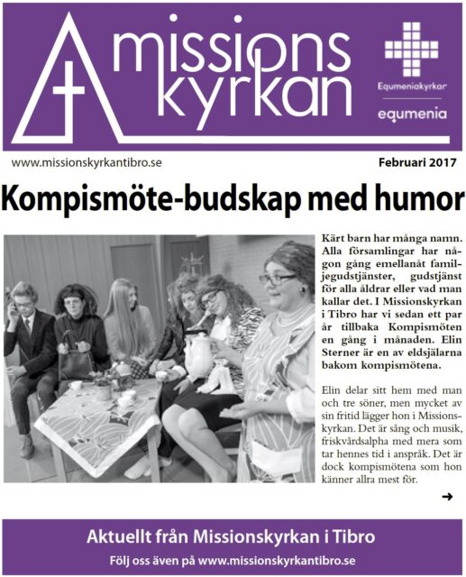 Tidningen Missionskyrkan | NR 1 2017