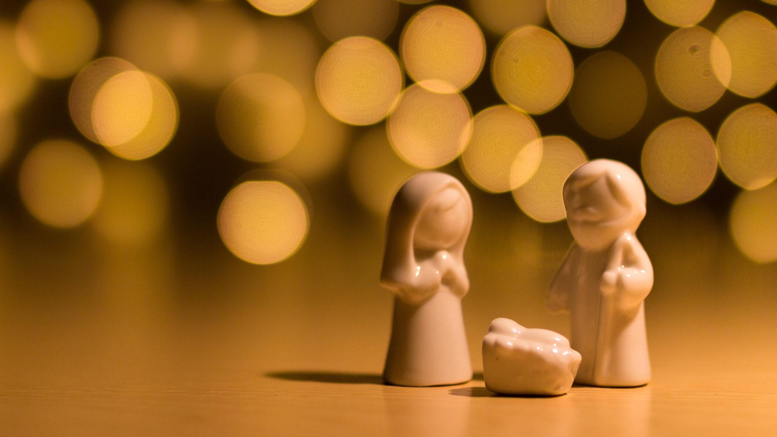Jesusbarnet, Maria och Josef