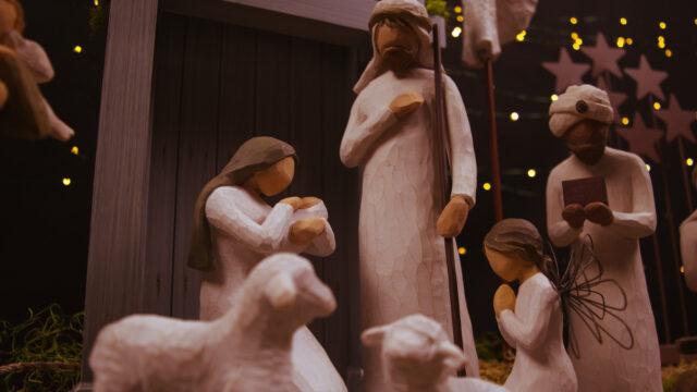 Jesusbarnet i stallet