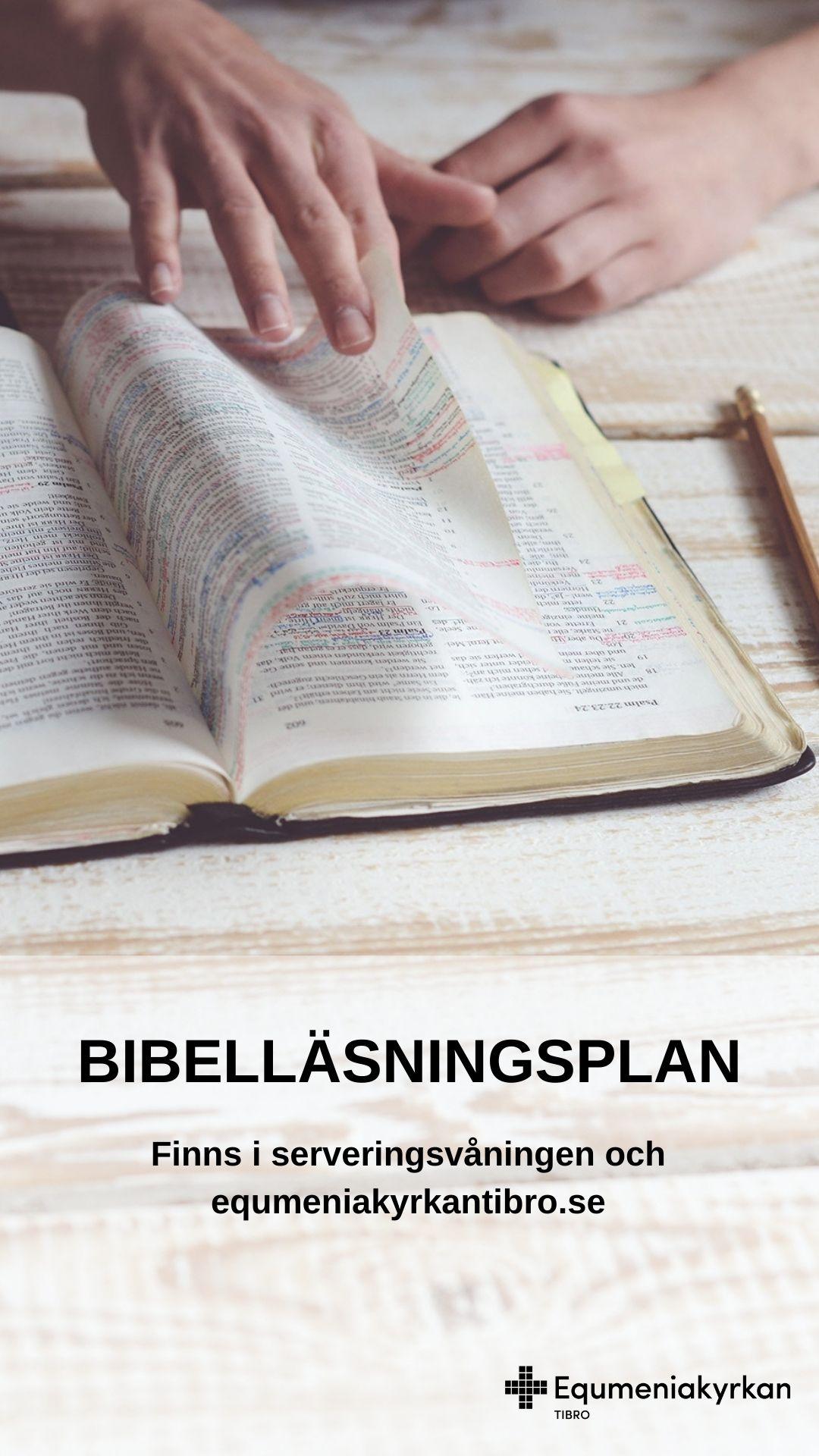 TV-slide - Bibelläsningsplan