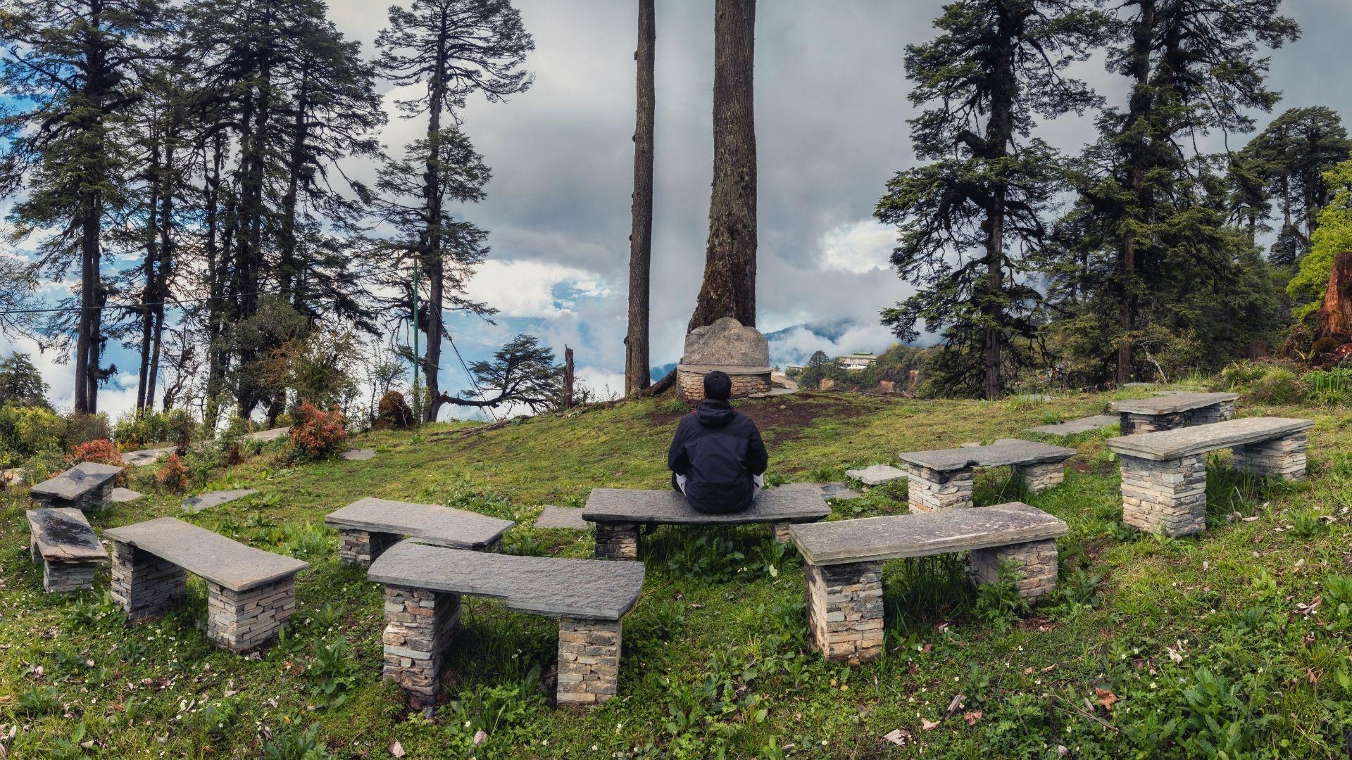 210121-webb-bibelstudium predikans plats berg bänk kyrksal natur