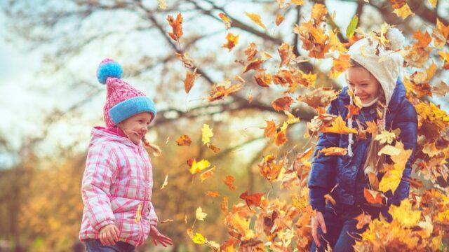 barn höst oktober november